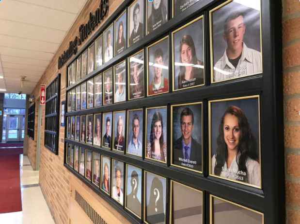 The Outstanding Students Wall