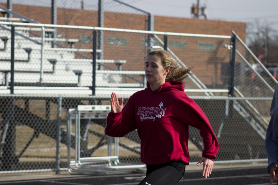 Girls Track Takes on Home Invite