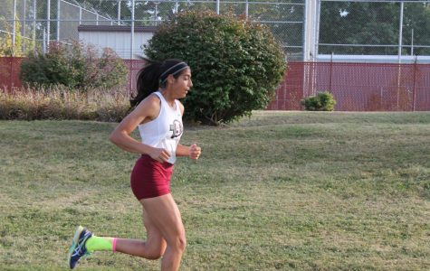 Noor Abdellatif continues to push herself in order to get ahead of the rest of the pack.