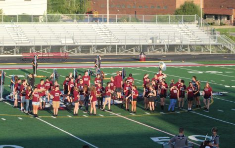 The Marching Sequoits Hope New Show is a Success
