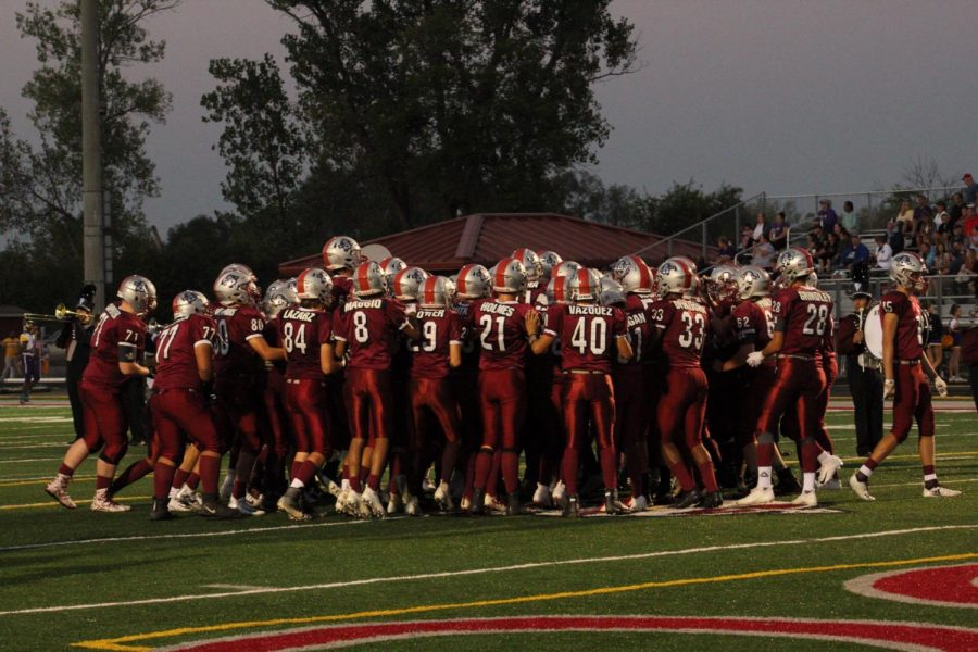 Antioch Football Crushes Wauconda