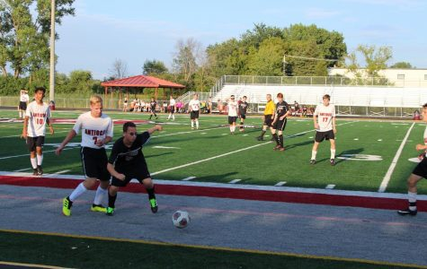 Boys Soccer Misses the Shot Against the Zee-Bees