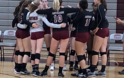 Girls Varsity Volleyball Matches Up Against North Chicago