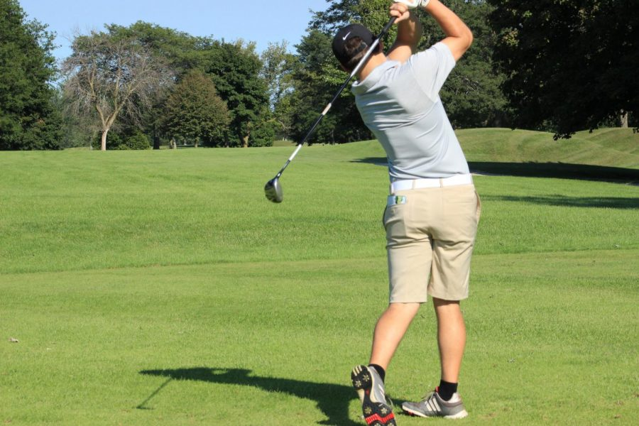 Boys Golf Clinch Conference Title