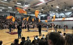Pep Rally Starts Homecoming Week