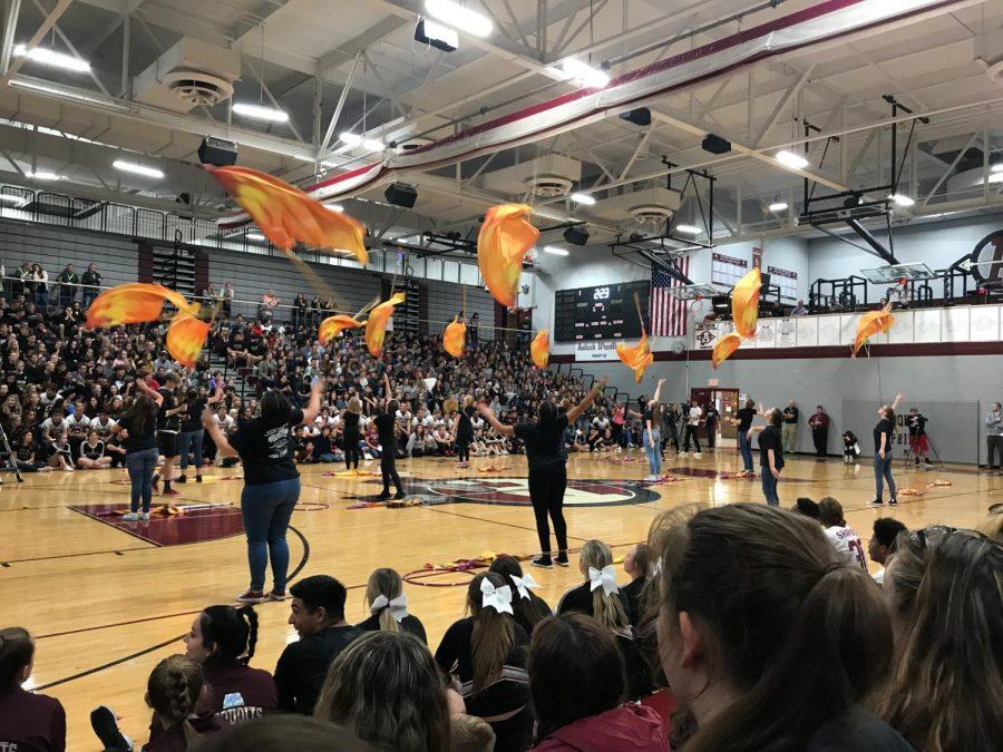 Pep Rally Starts Homecoming Week