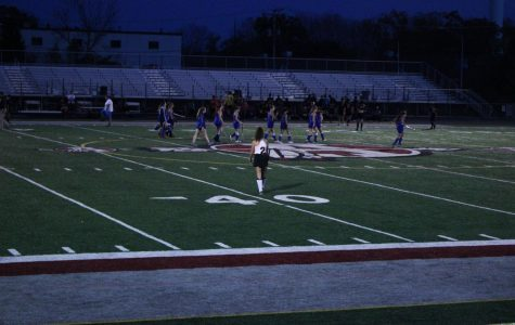 Girls Field Hockey Swing Hard Against Cross Town Rivals