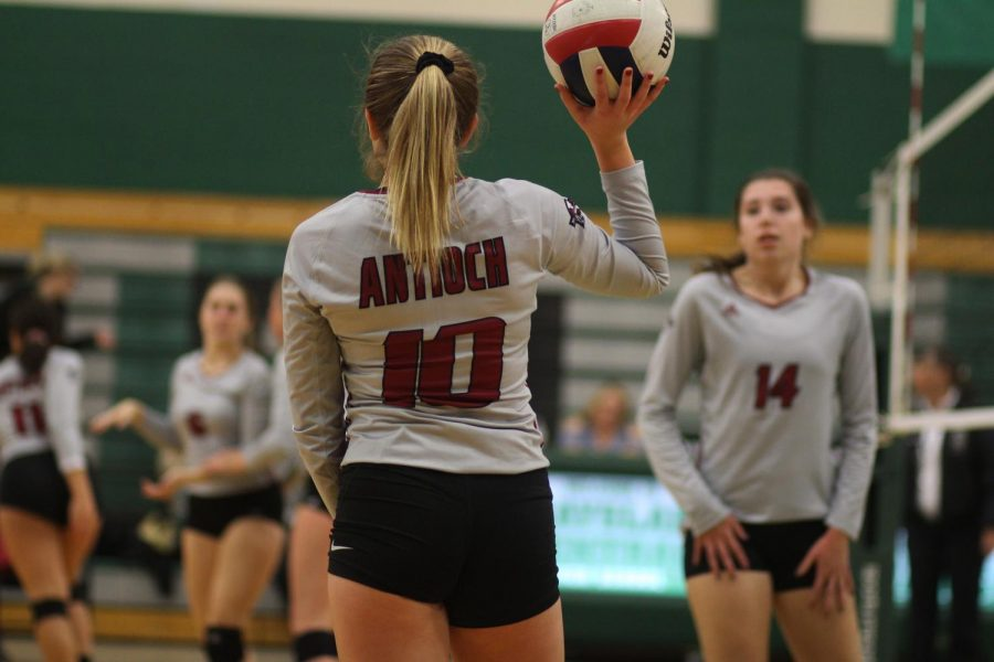 Antioch Volleyball Falls To the Rams