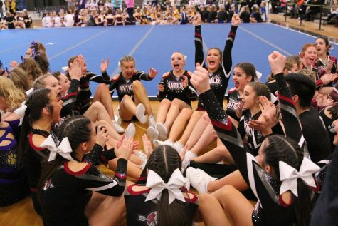 Antioch Cheer Competes in Their Last Invitational