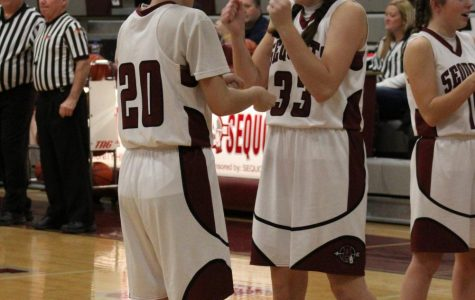 The girls all have their own special handshake to hype their teammates before starting the game.