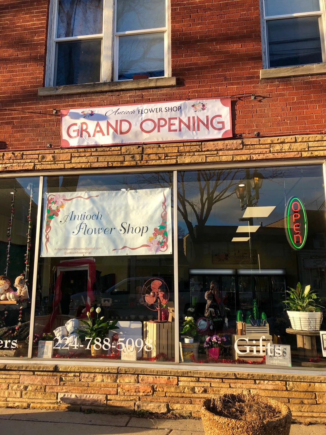 Brand new florist shop has grand opening to welcome customers with open arms.