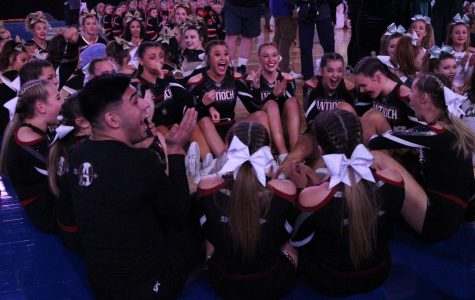 Antioch Cheer Takes Bronze at State
