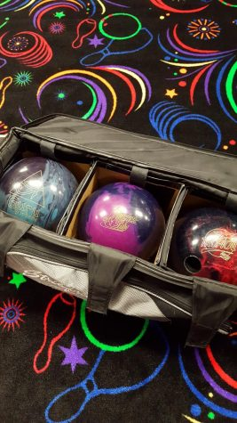 Bowling bags are open and ready for regionals meet.