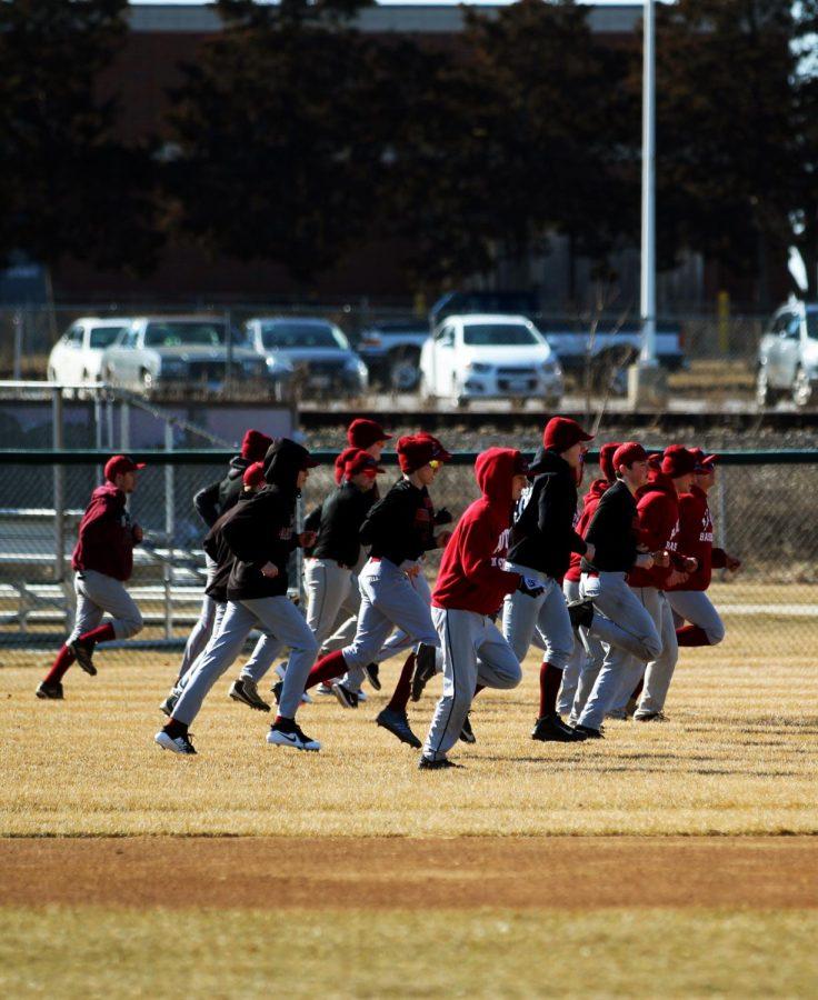 Boys baseball tryouts for the 2019 season.