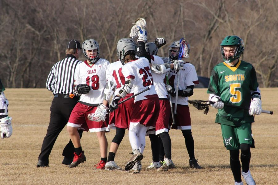 Lacrosse Ends the Losing Streak