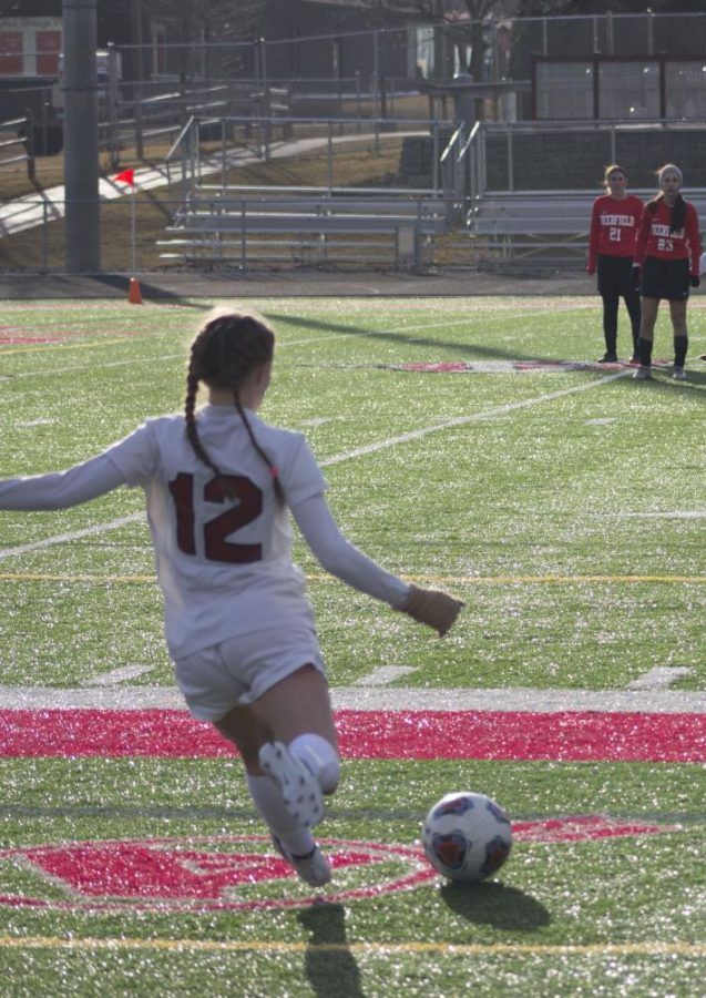 Antioch Varsity Soccer Defeats Marian Central