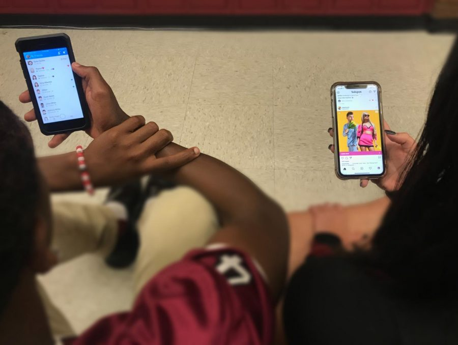 Social media can play a huge role in one's everyday life. Most people are constantly posting, viewing and taking photos to show the world. In this generation, with Snapchat at 186 million users and Instagram having 500 million users, they are the most popular social media platforms for high school students.