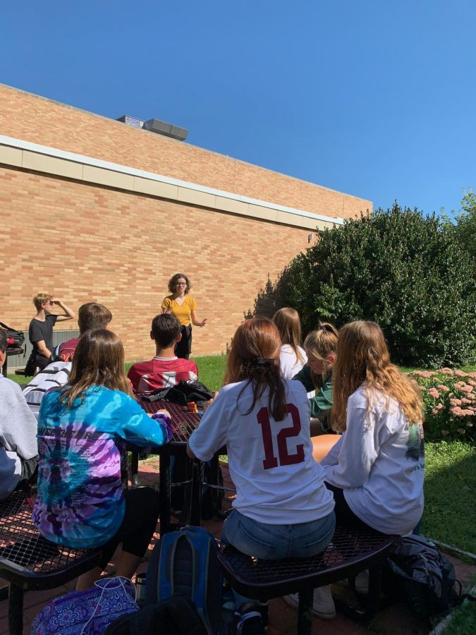 The ACHS Environmental Club manages to have fun while contributing to an important cause. Improving Antioch's environment for all in the community is important to club members. Every meeting brings a new topic, open for discussion.