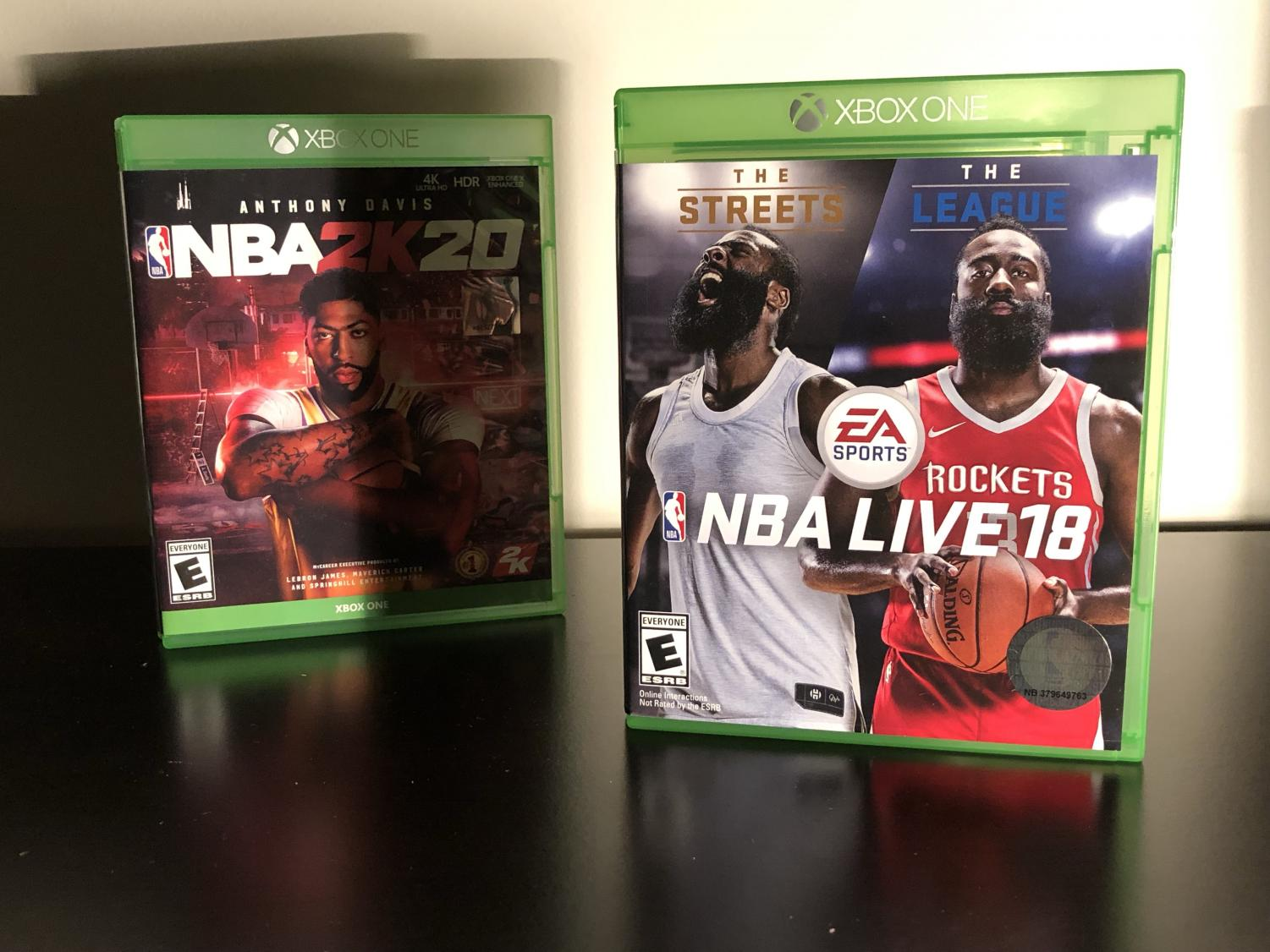 """NBA Live 18"" was the first basketball video game to add the WNBA in recent times. Now, ""NBA2K20"" added the WNBA without the option for players to create their own female players, after last year's ""NBA Live 19"" was released with the feature."