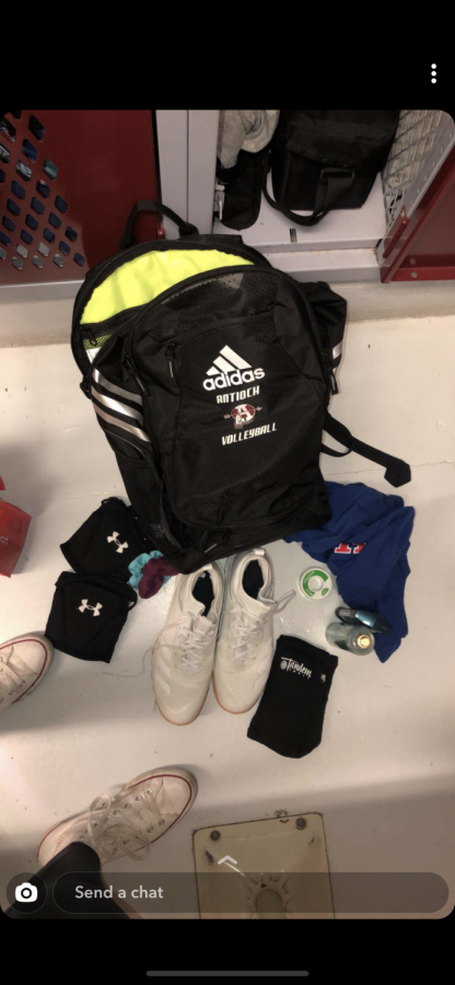 Whats in Your Bag: Girls Volleyball