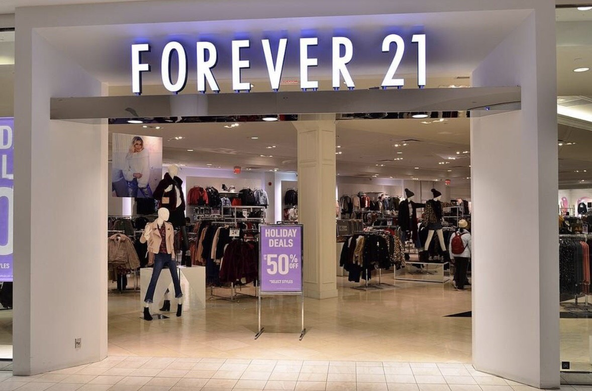 Forever 21 is a popular store among lots of teenagers.