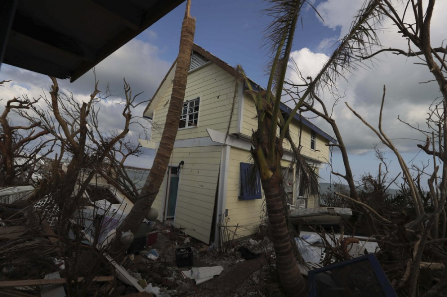 Abaco+Island%2C+Bahamas+was+one+of+the+areas+hit+the+hardest+by+Hurricane+Dorian.+Houses%2C+trees+and+infrastructure+were+uprooted+during+the+storm%2C+making+for+a+long+route+to+recovery+for+the+Caribbean+islands.