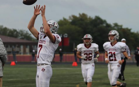Sequoits Defend Against the Rams