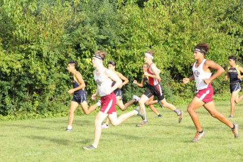 Cross Country Pushes Through Parkside