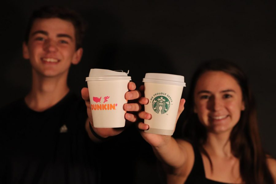 Students+have+different+options+when+deciding+where+to+get+their+seasonal+drinks.+The+Starbucks+and+Dunkin%E2%80%99+in+Antioch+are+popular+places+to+get+coffee+and+pastries.+Many+ACHS+students+are+drawn+to+the+convenience+of+each+place+in+satisfying+their+pumpkin+spice+needs.
