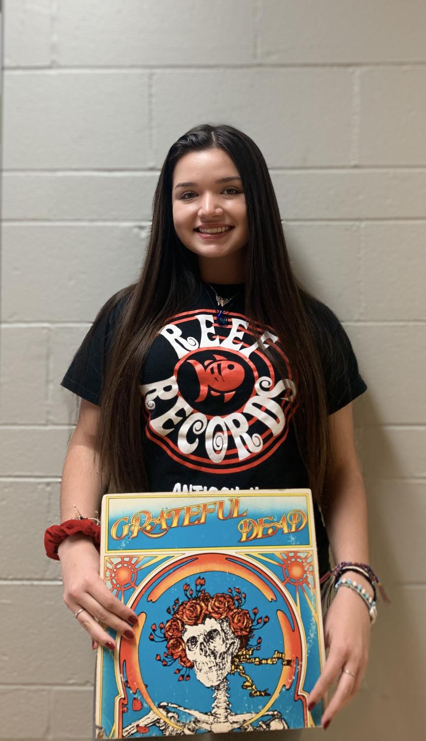 Junior Lily Ocampo purchased her Grateful Dead album from Reef Records. Her favorite songs on the album include Mama Tried and The Other One.