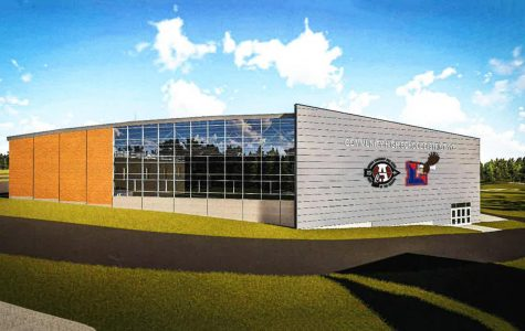 """This design, provided by the District 117 Board, depicts the vision that the district has for the field house. The impressive field house will cost around $22 million, according to the Daily Herald. """"It will probably be one of the top 2nd or 3rd field houses in the state of Illinois,"""" Athletic Director Steven Schoenfelder said."""