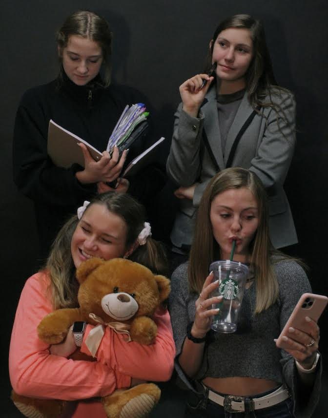 Teddy bears, coffee, textbooks, professional clothing all represent ages that we wish we could spend our whole lives in.