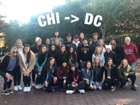 Members of the Tom Tom staff attended the National High School Journalism Convention, visited many historic sites and museums in Washington, D.C..