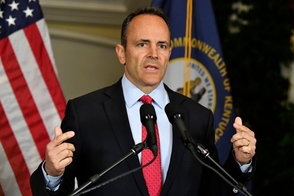 The current Governor of Kentucky, Matt Bevin, requested a recanvass, or a review of the votes in each county. Bevin lost to his Democratic opponent, Andy Beshear.