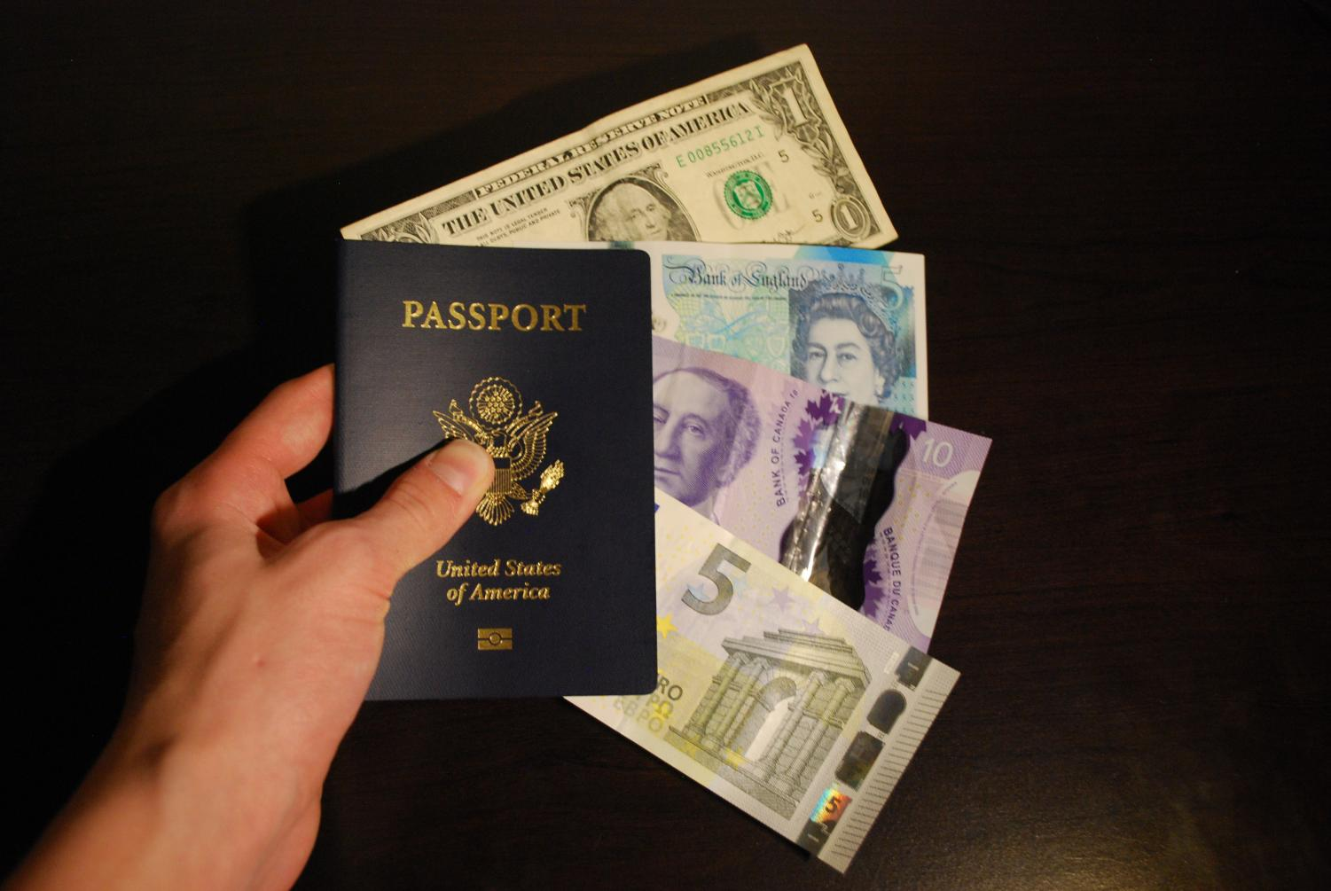 It is important to prepare for a vacation ahead of time, including exchanging foreign money.