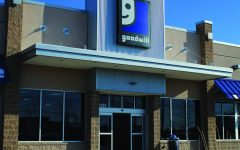 Goodwill is one of the multiple thrift stores around Antioch that sells cheap used clothing.