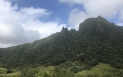 The mountain views from Kualoa Ranch on Oahu.
