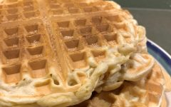 As they may look like classic waffles, the inside is filled with cinnamon spices and sweet sugar.