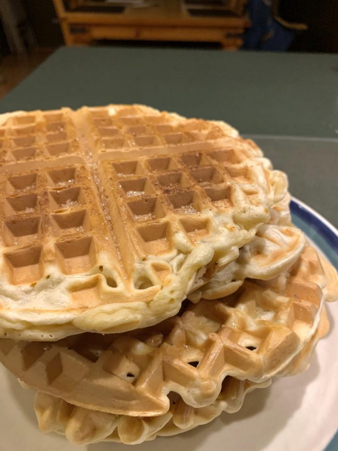 As+they+may+look+like+classic+waffles%2C+the+inside+is+filled+with+cinnamon+spices+and+sweet+sugar.