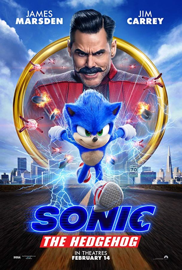Sonic+gets+his+first+film+after+the+hit+video+game+is+brought+to+the+big+screen.