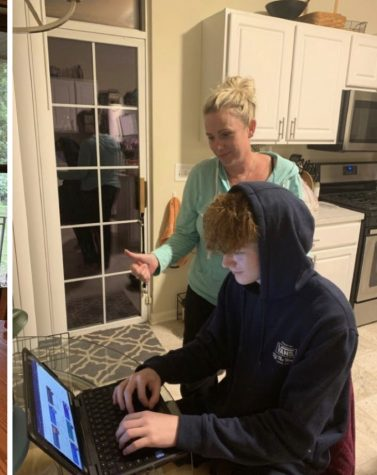 Parents at Antioch Community High School have had mixed emotions about remote learning.