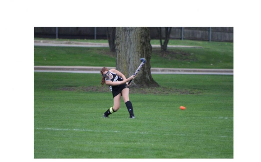 Maggie Volkmar played field hockey last year. Field hockey being in the spring this year could prove to significantly change the season.
