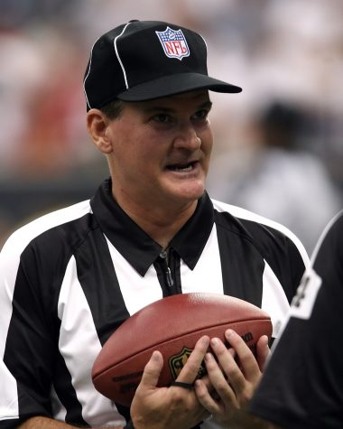 As referees keep athletes in line when in play, the question is posed of who takes on this role when not in play.