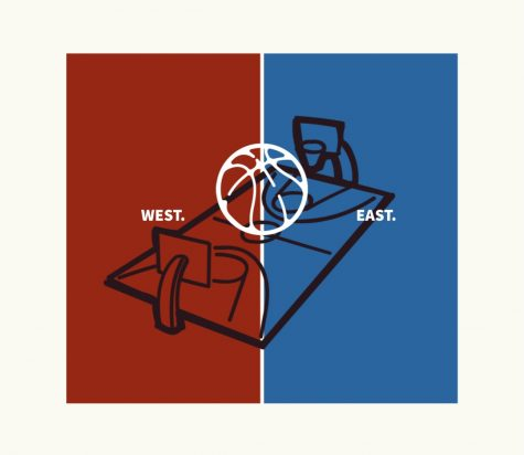 The NBA All-Star Game is played between the best players from the Eastern Conference and best players from the Western Conference.