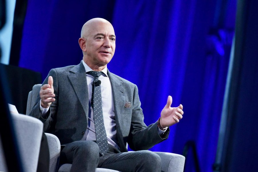 Jeff Bezos steps down as Amazon CEO after holding the position since the company's start in 1994.