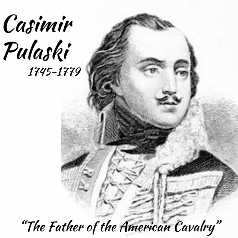 Casimir Pulaski is remembered as The Father of the American Cavalry because of his involvement with American colonists.