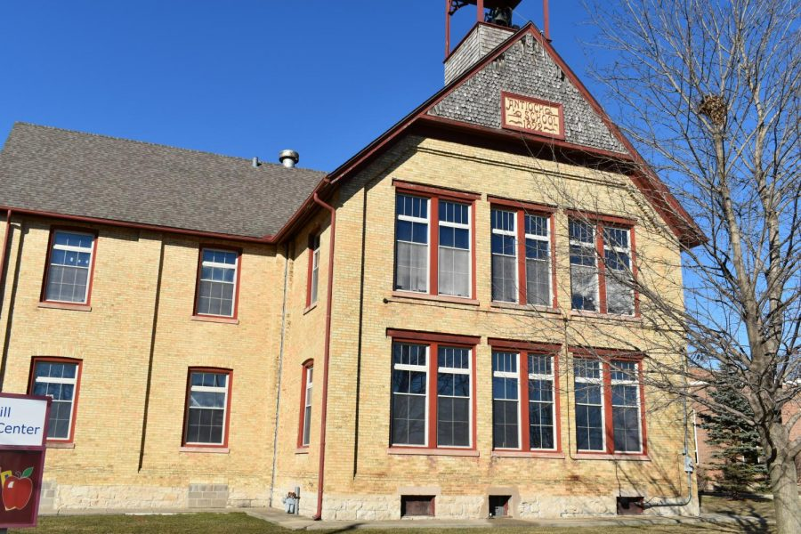 The old Antioch schoolhouse currently serves as a museum located off of Main Street.