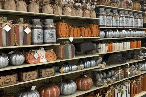 Hobby Lobby starts putting our their fall decor in August, which is early in comparison to other stores.