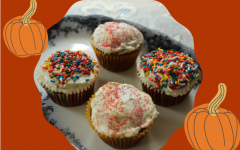 Fall is the perfect time to try delicious gluten-free pumpkin spice cupcakes.