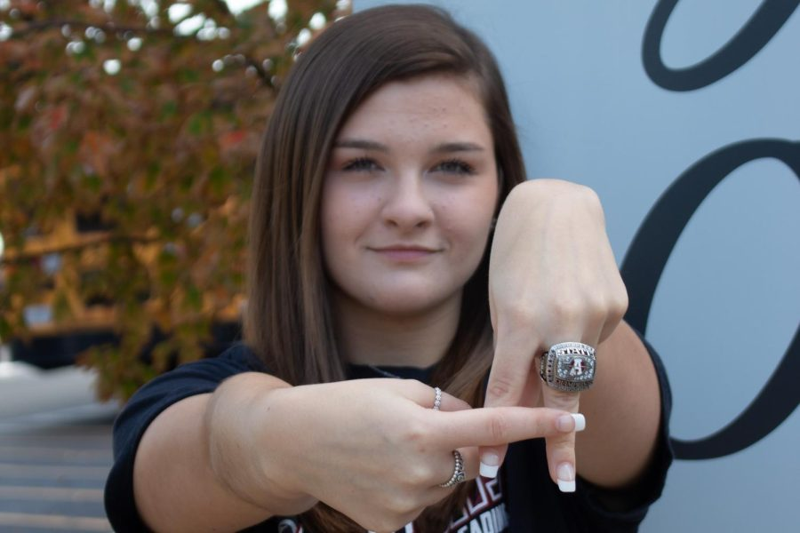 The impact of being a sequoit cheerleader has made me more social, said Pope. I felt like I could really put myself out there and be who I am without being shy.